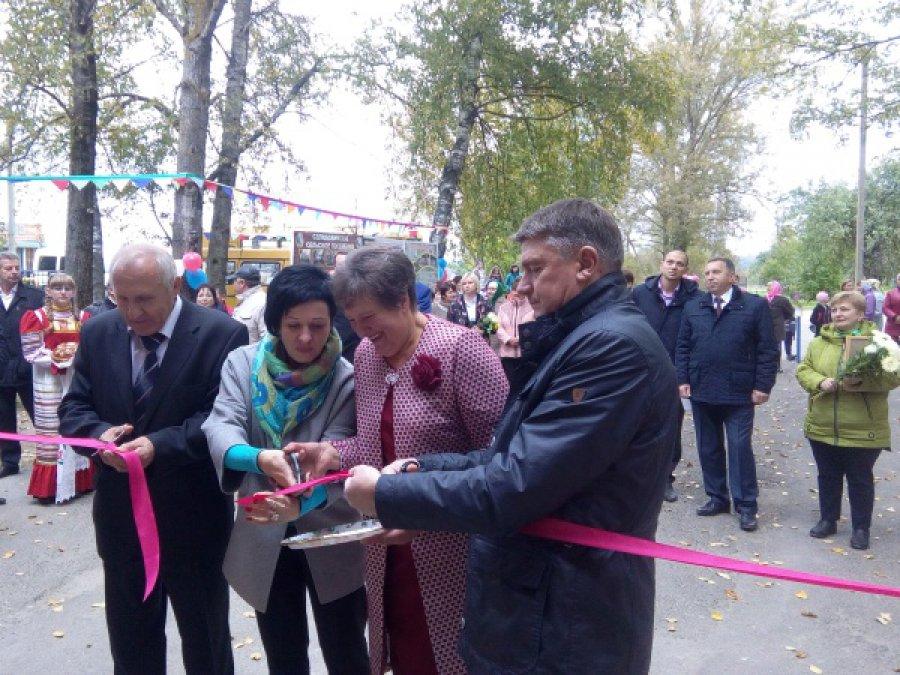 Врогнединском селе Снопоть открыли улучшенный центр культуры