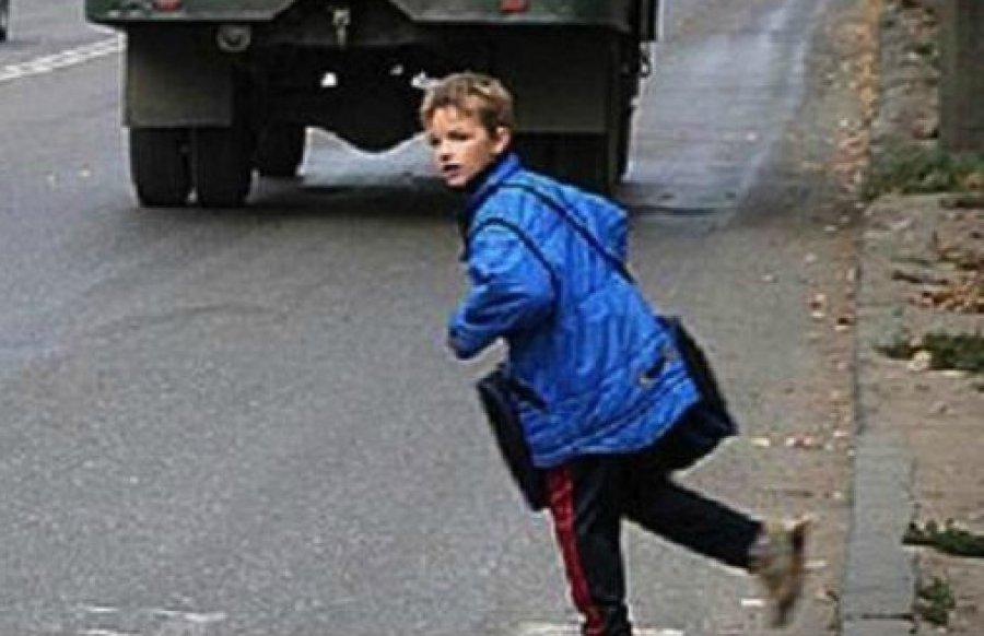 ВБрянске иностранная машина  сбила 9-летнего школьника