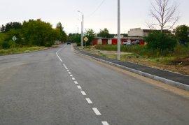 В Фокинском районе Брянска с нуля построили новую дорогу