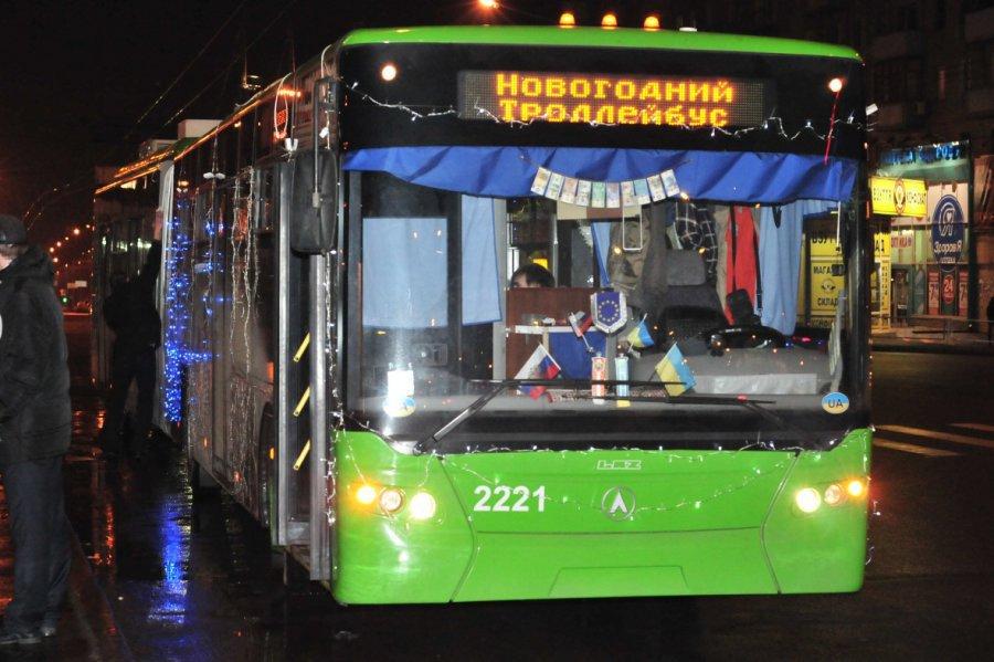НаРождество вБрянске будут курсировать дополнительные троллейбусы