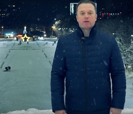 Брянский депутат Сергей Антошин записал креативное поздравление с Новым годом