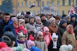 В Брянске Масленицу отметили около 8 тысяч человек