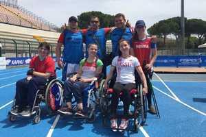 Брянские паралимпийцы отличились на легкоатлетическом турнире в Италии