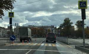 В Брянске установили светофор возле ДК Железнодорожников