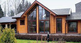 Достоинства и особенности домов из клееного бруса