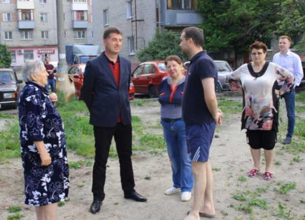 В Брянске обещают благоустроить двор на улице Вяземского