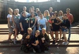 Делегация молодежи из Латвии прошла партизанскими тропами Брянщины