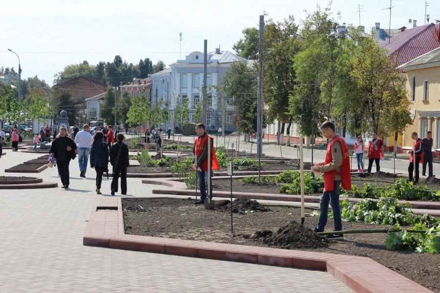 Брянщина вошла в ТОП-10 регионов по созданию комфортной городской среды
