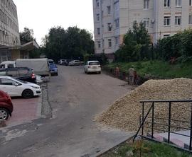 В Брянске бизнес-центр возле площади Партизан обвинили в захвате земли