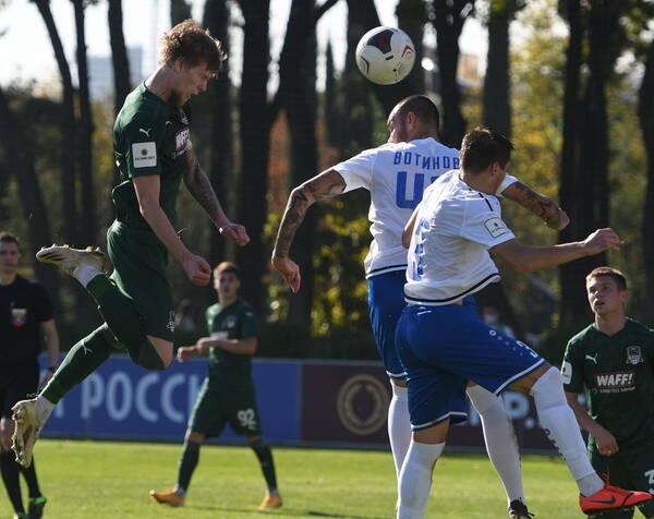 Брянское «Динамо» сыграло вничью с дублем «Краснодара»