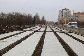 В Брянске работы на Первомайском мосту завершены на 60%