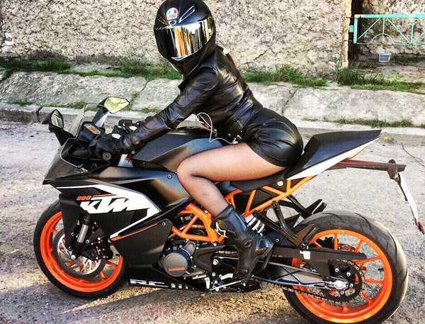 удовольствие от мотоцикла