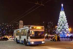 В Брянске изменится расписание троллейбусов на новогодние праздники