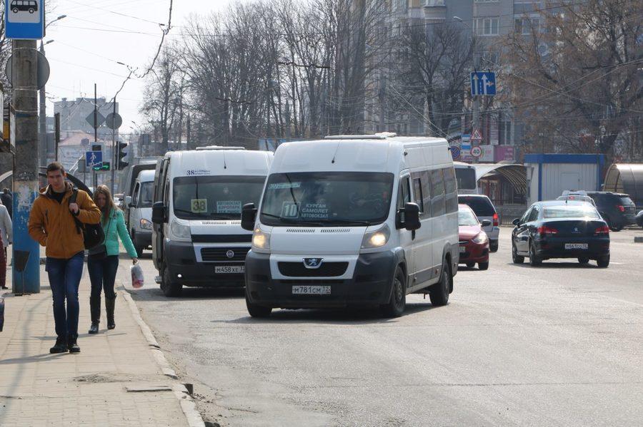 В Брянске опубликовали график движения маршруток