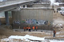 В Брянске стройку Первомайского моста защитят видеокамерами