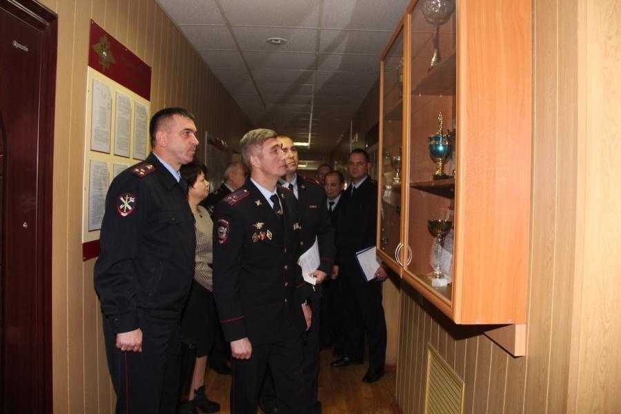 Начальник брянского УМВД нагрянул с проверкой в Дятьковский район