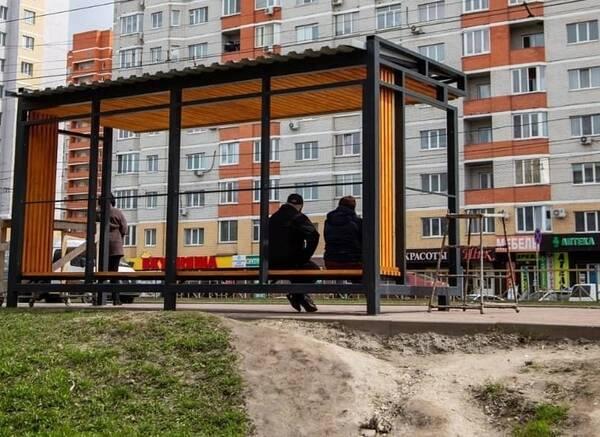 В Брянске установили новую остановку на Станке Димитрова