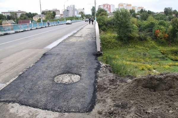 Брянских чиновников пригласили на прогулку по Черметовскому мосту