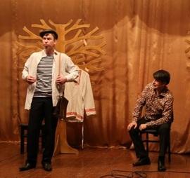 В брянских колониях московский театр «ЛАД» показал «Русский крест»