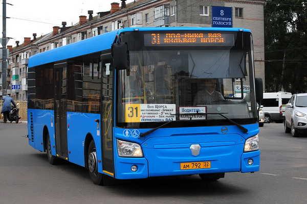 В Брянске стали чаще ходить автобусы №31 Брянск
