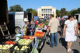 В Брянске прошла первая ярмарка выходного дня