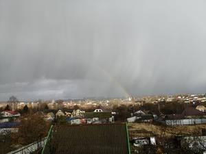 В День защитника Отечества на Брянск обрушился град