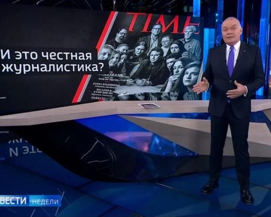 Вонючая мразь: Венедиктов и Киселев показали брянским СМИ уровень дискуссии