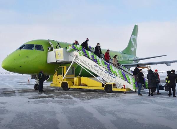 Из Брянска возобновились регулярные рейсы в Москву