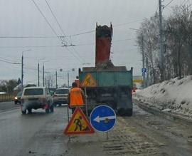 С брянских улиц за сутки вывезли 1600 тонн снега