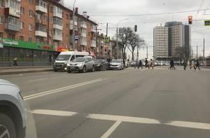 В Брянске произошло массовое ДТП на цирке