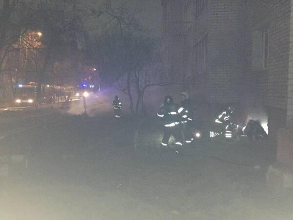 В Брянске горела многоэтажка: эвакуировали 60 человек