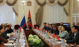 В Брянске состоялось заседание Совета законодателей ЦФО