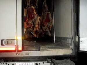 На Брянщину не пустили 16,4 тонны говядины и Беларуси