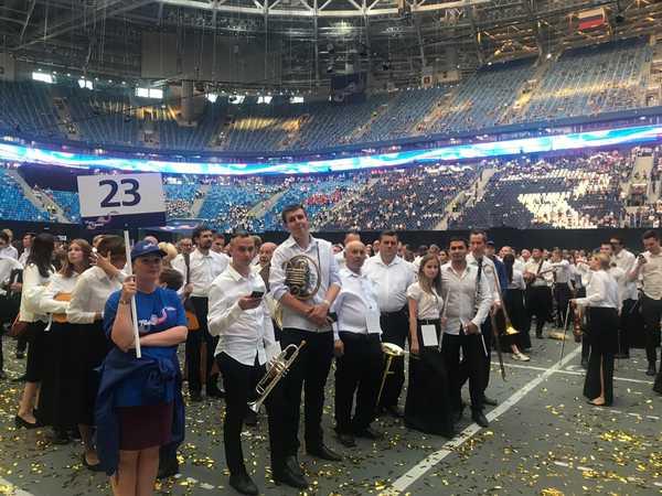 Брянцы спели гимн России и попали в Книгу рекордов Гиннесса