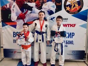 Брянцы взяли два «серебра» на Всероссийском турнире по рукопашному бою