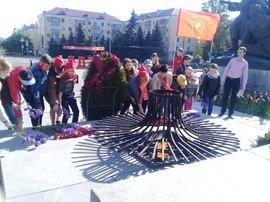 Комсомольцы Брянщины провели очередную Вахту памяти