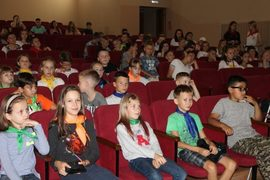 В санатории ОНФ показал брянским детям мультфильм о Крещении Руси