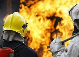 В Суражском районе сгорел частный дом: никто не пострадал
