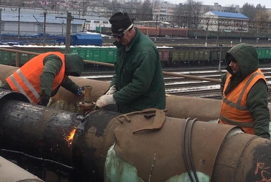 В Брянске устранили коммунальную аварию в Фокинском районе