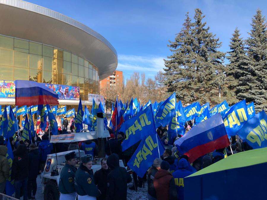 Тысячи брянцев отметили День защитника Отечества с ЛДПР