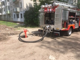 В брянской поликлинике загорелся холодильник: эвакуировали 48 человек