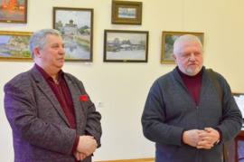 В Брянске открылась выставка художника Евгения Фетисова
