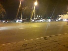 В Брянске произошло крупное ДТП с тремя автомобилями