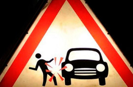 В Брянске пьяный мужчина попал под Ford автоледи