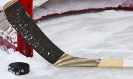 В Брасово 23 февраля состоялся турнир по хоккею с шайбой