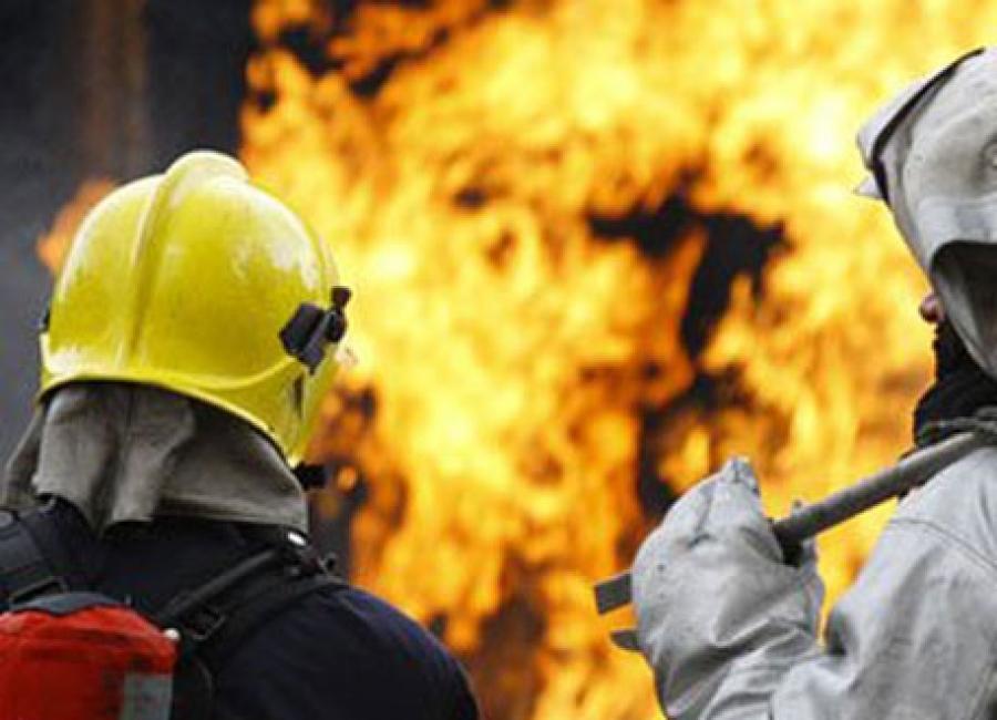 В брянском посёлке Бордовичи сгорела баня