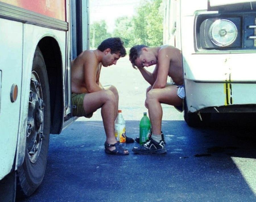 Пассажирам автобуса Брянск - Москва устроили камеру пыток