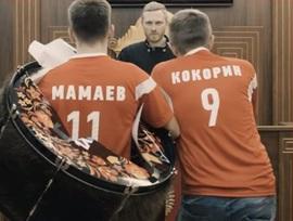 В Брянске сняли клип про очередные похождения Мамаева и Кокорина