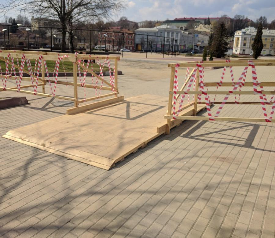 В Брянске на Набережной готовятся к масштабному ремонту коллектора