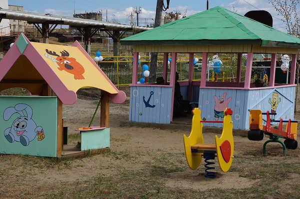В суражском детсаду «Капелька» малышей оставили без игровой площадки